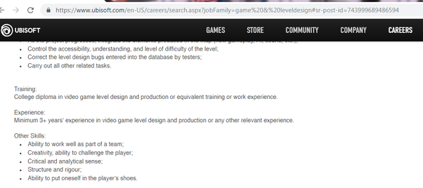 How to get a job in the game development industry (i e  work
