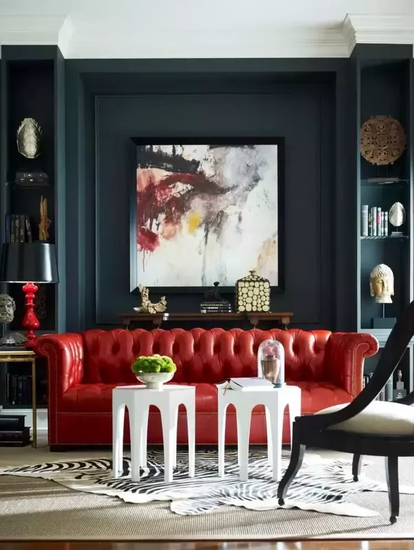 Delicieux If The Sofa Shape Is Softer With Graceful, Curving Lines You May Opt To Use  A Softer, Less Saturated Color On The Walls As A Compliment.