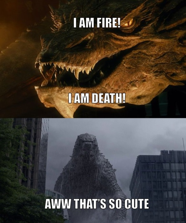 Most Likely To Questions >> Who would win in a fight between Ancalagon and Godzilla? - Quora