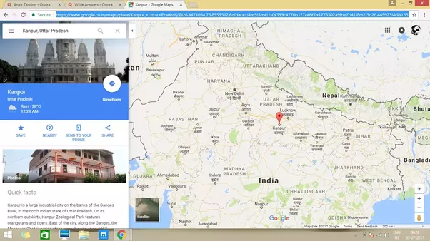 Is Kanpur in UP East or West Quora