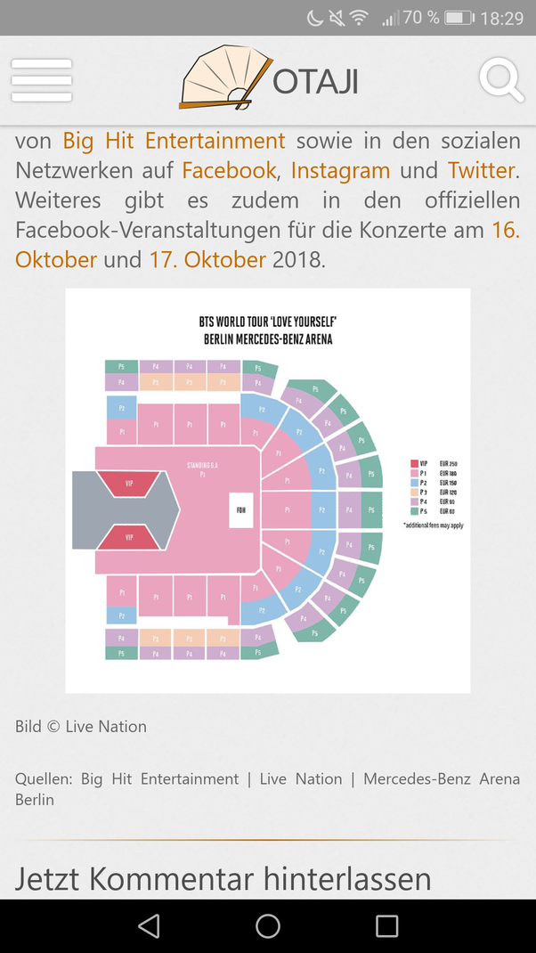 How much does it cost to be at the front row on a bts concert at in germany the vip tickets are 250 and i think ive seen them for london for 220pounds m4hsunfo