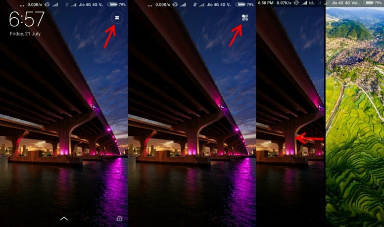 How To Set Multiple Wallpapers In A Redmi Note 4 Quora