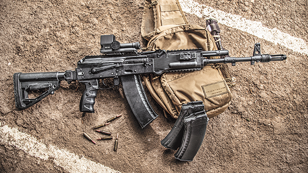 Which rifle would you choose for the infantry? G36, HK416