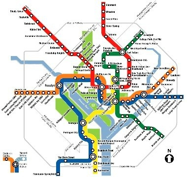 How do people get from the nearest Amtrak station to University of