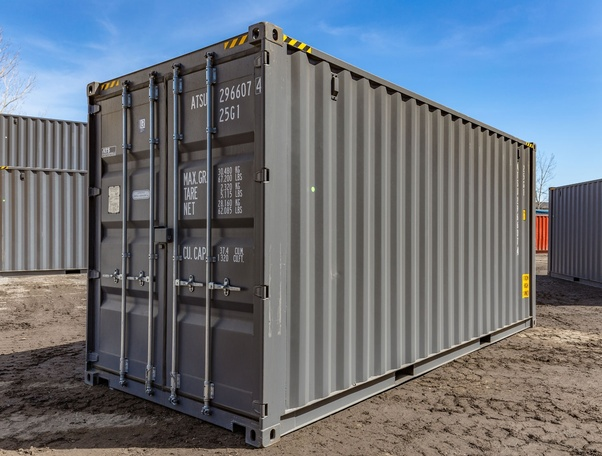 How Much Does A Steel Shipping Container Weigh Quora