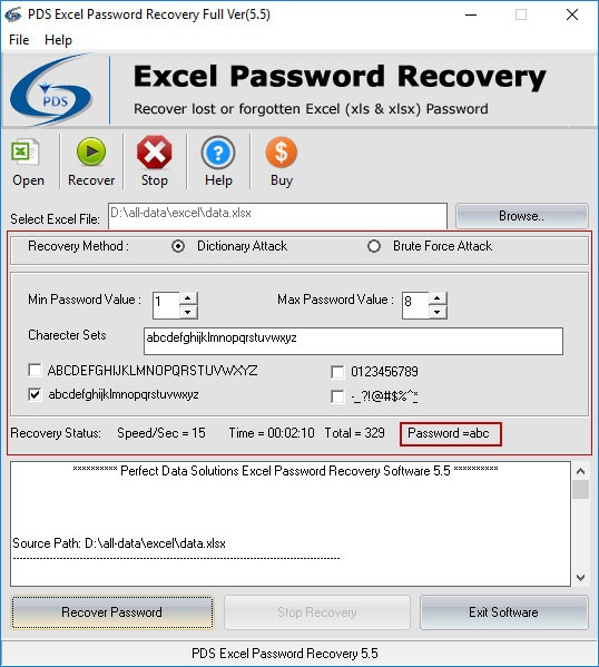 forgot password excel protected file
