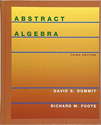 Which is the best Abstract Algebra book for a first year graduate