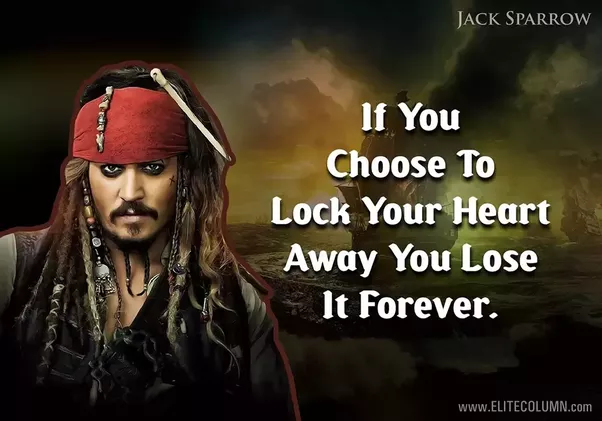 Pirates Of The Caribbean Quotes What Are Some Good Pirates Of The Caribbean Quotes  Quora