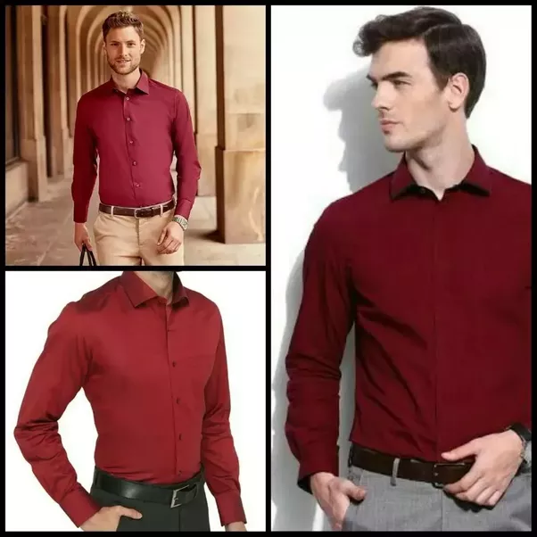 What color of pants should I wear with a red shirt?