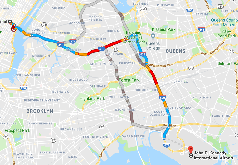 What is the best way to get from Grand Central to JFK? - Quora