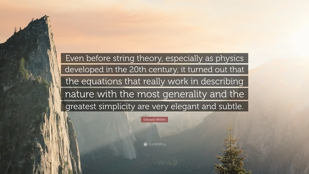 Is Edward Wittens Ability In Math And Physics On Par With The Likes