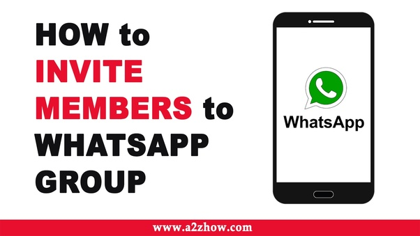 How to create a WhatsApp group link - Quora