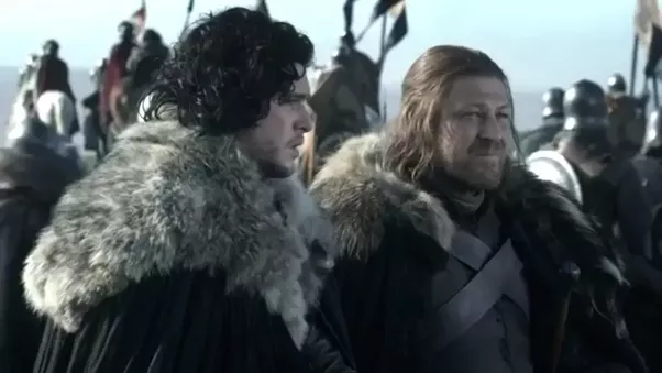 Does Ned Stark know that Jon is the rightful heir to the ...