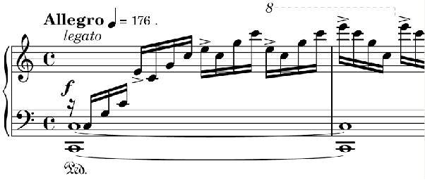 How do Chopin's Études compare to Liszt's Transcendental