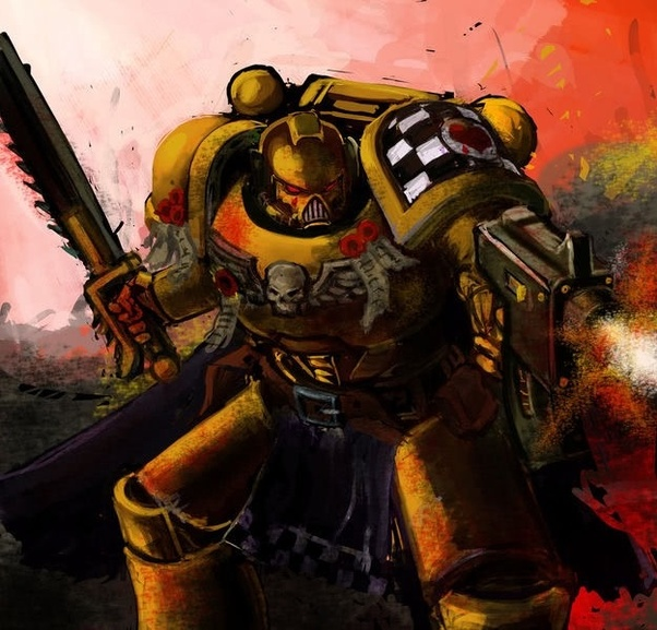 In Warhammer 40k what is your favorite space marine chapter