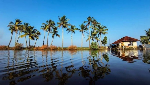 One Of The Most Beautiful Backwaters In World