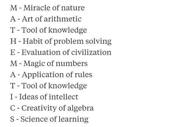 What is the full form of mathematics? - Quora