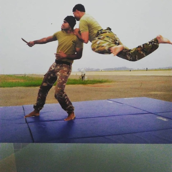 What kind of combat/martial arts training does the Indian