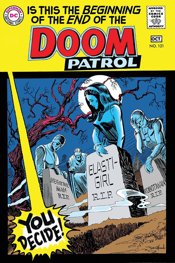 doom patrol negative man comic