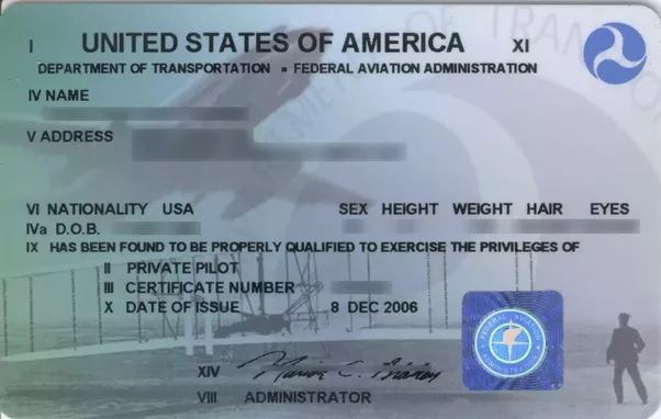 What are the different types of pilot licenses? - Quora