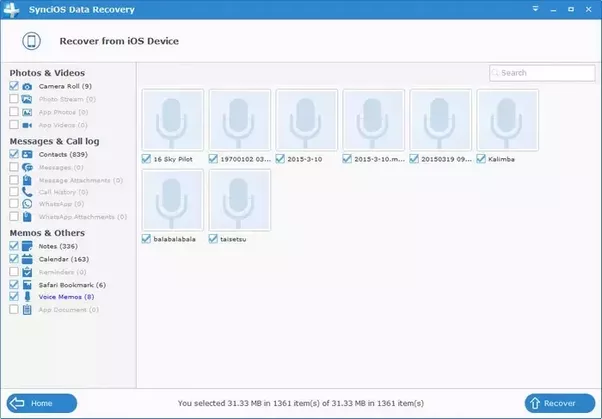 how to get iphone voice memos onto computer