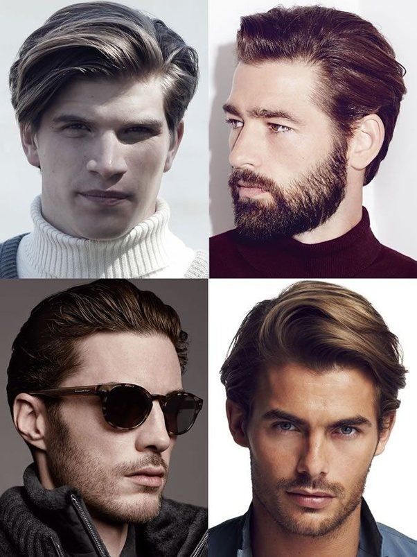 What Hairstyles Should A Man With A Heart Shaped Face Look For Quora