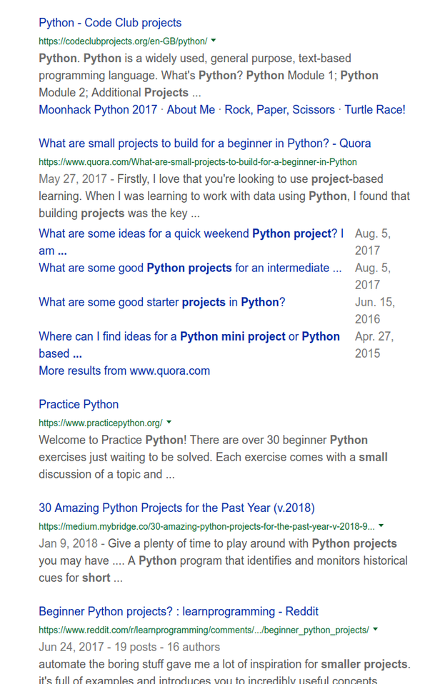 What are small projects that I can do to practice Python basics? - Quora