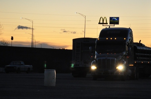 Do truck drivers usually sleep in hotels? - Quora on