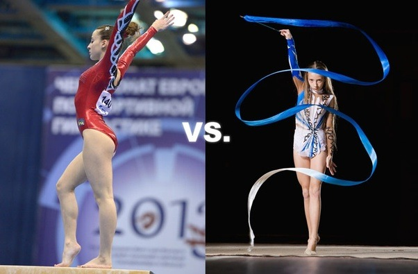 a discussion on a rhytmic gymnasts routine Rhythmic gymnastics: russians sweep the board and looks set to become the new star of the russian rhythmic gymnastics about my different routines.
