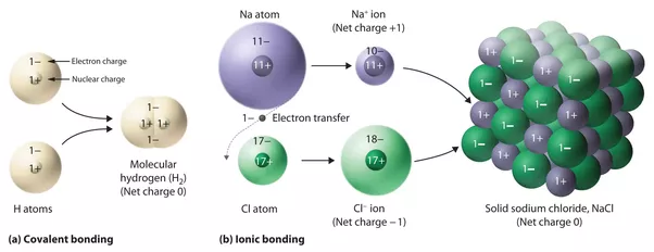 What is the difference between ionic compounds and ...