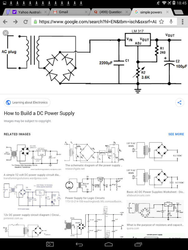 How does power supply circuit works? I need someone to ...