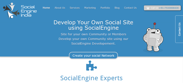 Superior If You Are Searching For A Social Networking Website Design And Development  Company. Contact Social Engine India. We Help You Build Your Own Customized  ...