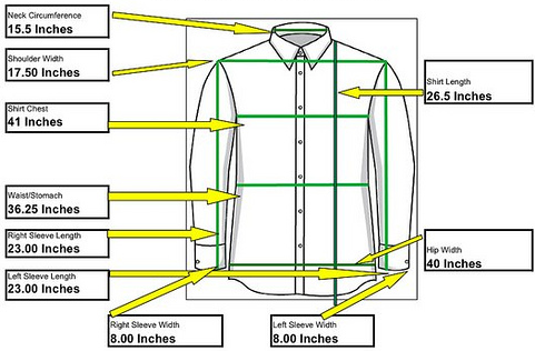 If you're ordering a custom dress shirt, one way to create your custom size is to measure your body. The following explanations and videos will show how to measure for a dress shirt and create your custom size.