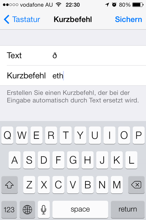 Is There An Ipa Symbol Keyboard For The Iphone Quora