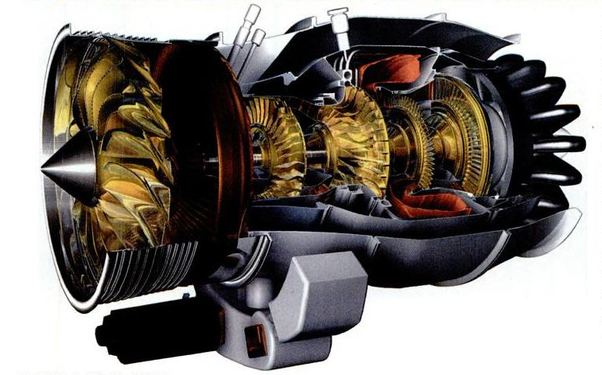 Why are turboprop aircraft engines less expensive than turbofan jet
