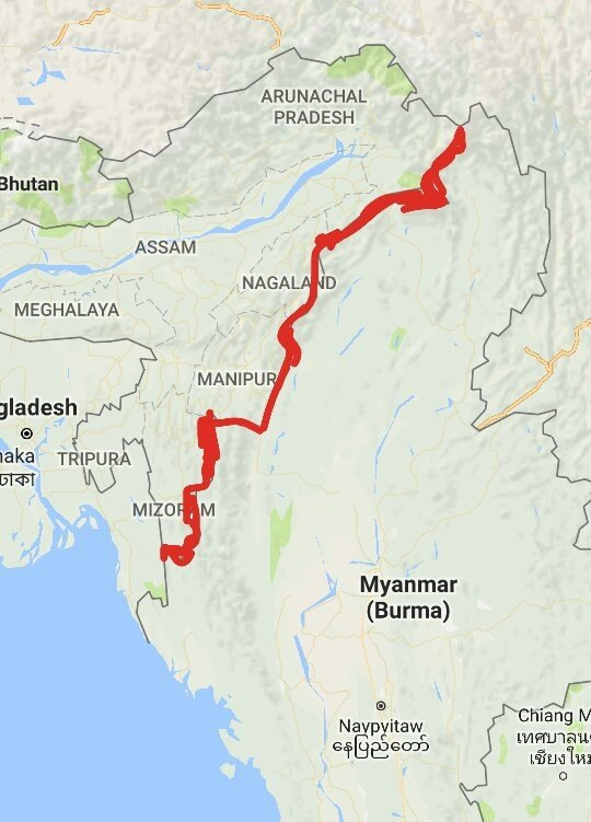 What Is The Border Between India And Myanmar Called What Treaty