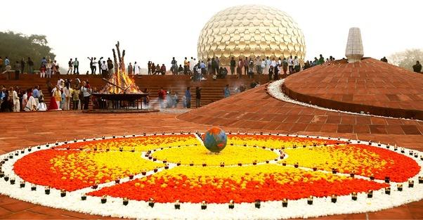 """Resultado de imagem para Auroville"""""""