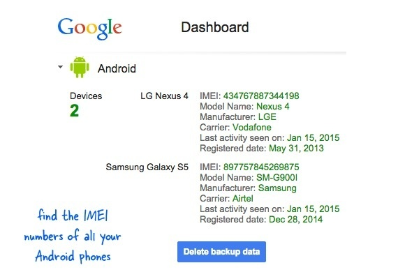 I Have Lost My Mobile How Do I Find My Imei Number Quora