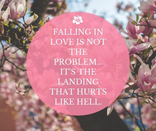 Does it you what fall in mean love when What Does