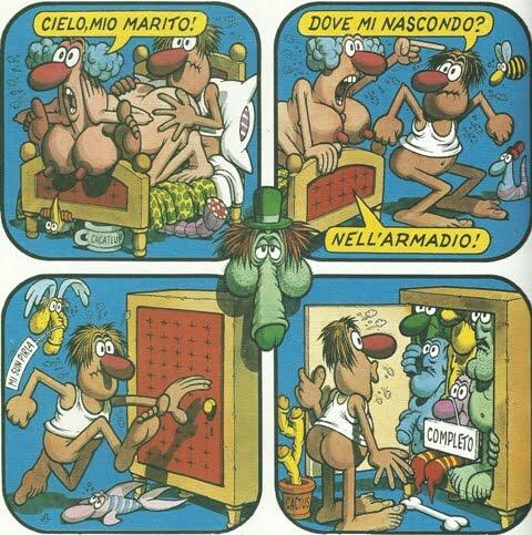 Completo porno fumetti
