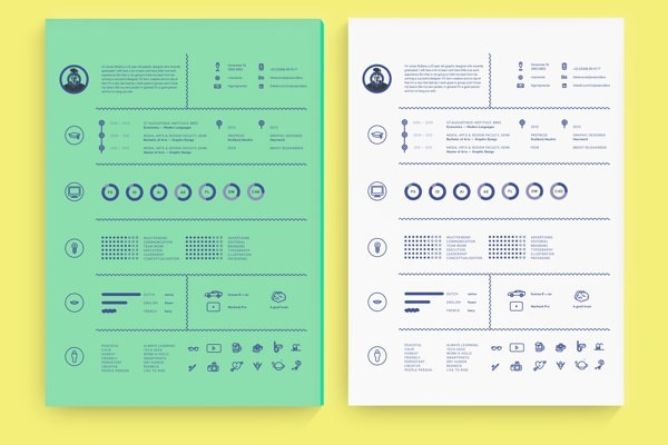 What are some examples of beautiful and functional resume design i i like simple and well formatted resume designs main advantage of design resume is that recruiter can find relevant information about candidate much more thecheapjerseys Gallery