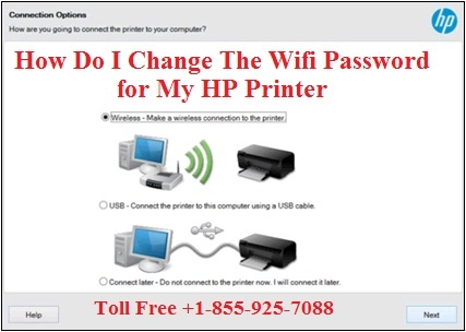 How Do I Change The Wifi Password for My HP Printer