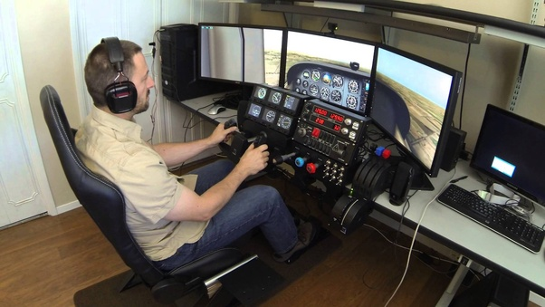 Would a person who mastered the flight simulation software