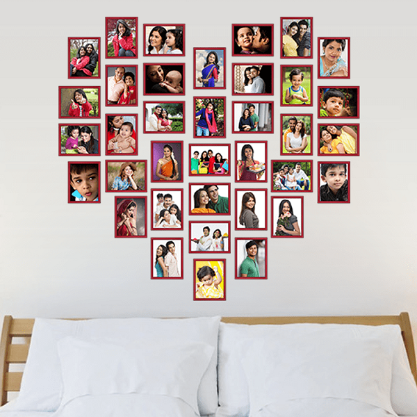 Designer Wall Concept Collect Best Pictures Of Your Memories And Create A Photo Collage It Fix On Her Room S