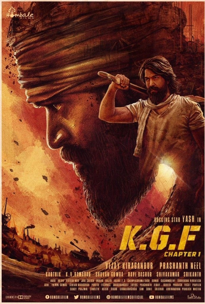 What is the story behind KGF? Did the events shown in the movie