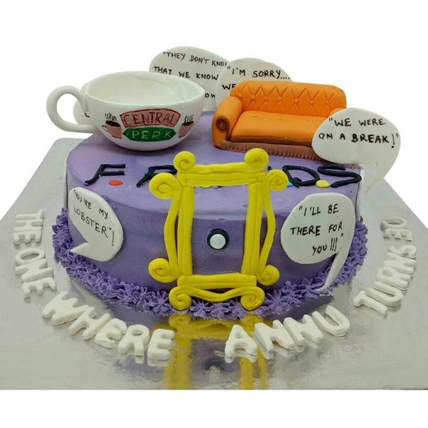 Where Can I Find A Friends Themed Cake In Pune How Much Would It