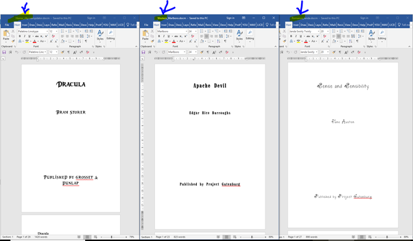 Which font style and size should I use to write a novel in