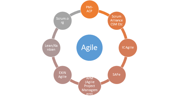 What are the key differences among PMI-ACP, PRINCE2 Agile and Scrum ...
