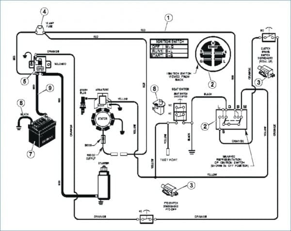 Riding Mower Run Without A Battery, Small Engine Magneto Wiring Diagram