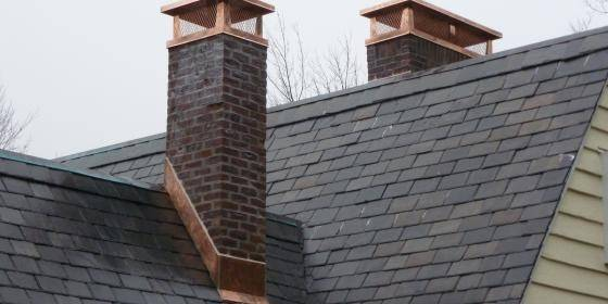 How Do Chimneys Prevent Rain And Snow From Getting In Fireplaces